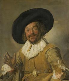 Schilderijbehang - Hals - De Vrolijke drinker - The merry drinker