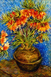 Schilderijbehang - Van Gogh - Fritillaries - Kievietsbloemen