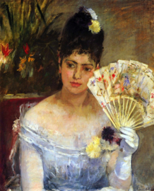Schilderijbehang - Morisot - At the ball