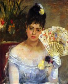 Schilderijbehang - Morisot - At the ball