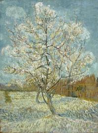 Schilderijbehang - Van Gogh - Roze Perzikboom