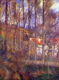 Schilderijbehang Pissarro - Rue de Gisors