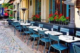 Fotobehang - Restaurant - Bistro