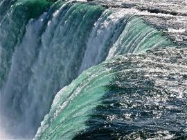 Fotobehang - Waterval - Niagara waterval 1