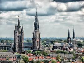 Fotobehang - Delft