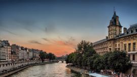 Fotobehang - Parijs - Seine