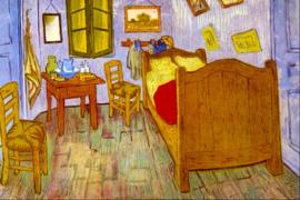 Schilderijbehang - Van Gogh - De Slaapkamer in Arles