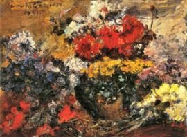 Schilderijbehang - Corinth - Herfstbloemen - Autumn flowers