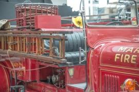 Fotobehang - Oldtimers - Brandweerauto - Fire Truck