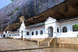 Fotobehang - Tempel Sri Lanka