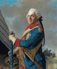 Schilderijbehang - Liotard - graaf Herman Maurits van Saksen