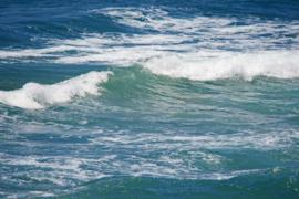 Fotobehang - Zee - Aquablauwe zee 2
