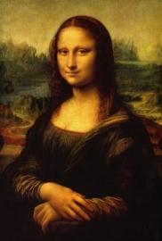 Schilderijbehang - Da Vinci - Mona Lisa (1)