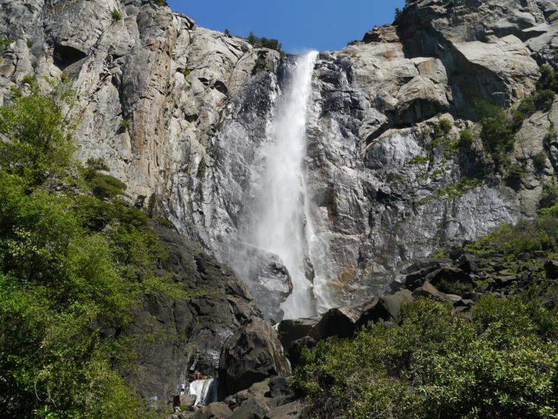Fotobehang - Yosemite waterval