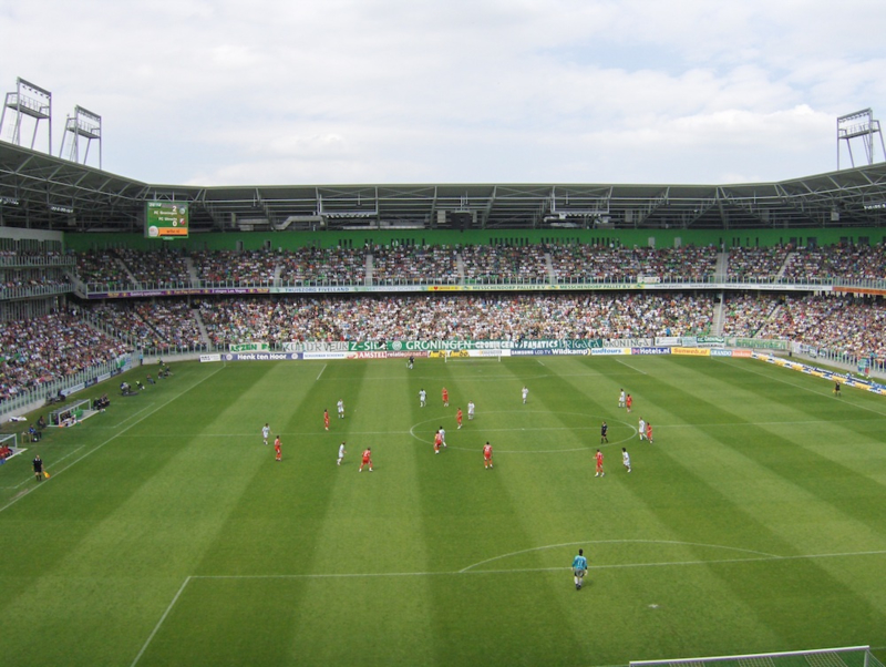 Fotobehang - FC Groningen - Stadion FC Groningen
