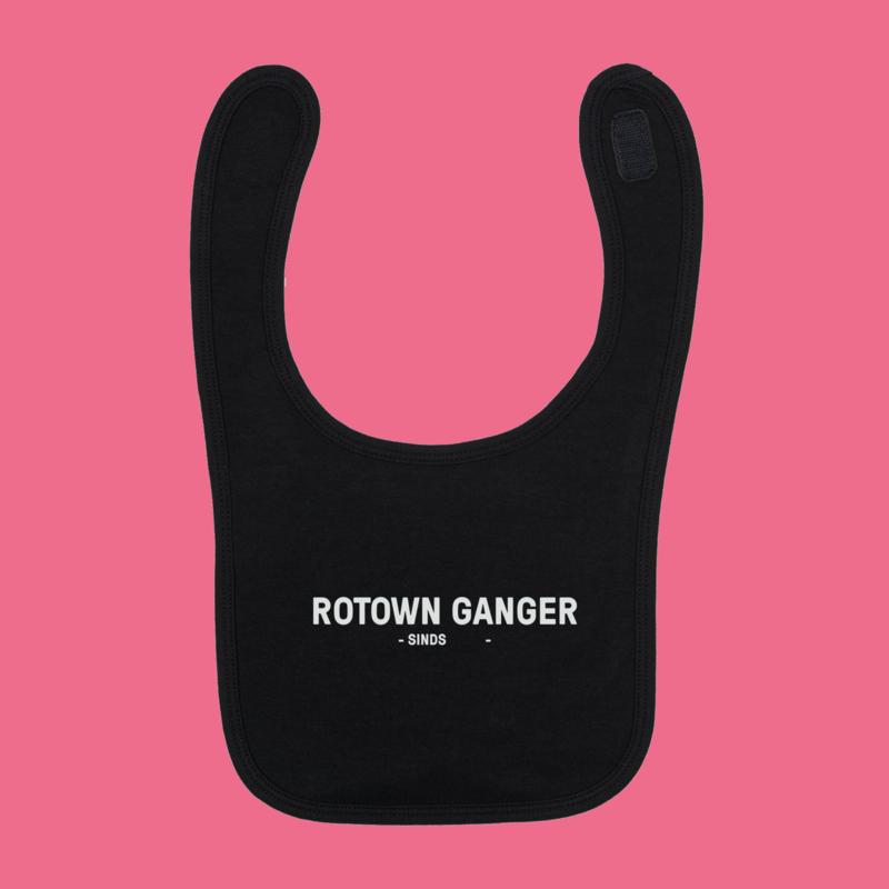 Rotown Ganger slabbetje (met eigen jaartal)