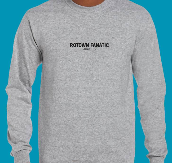 Rotown Fanatic longsleeve (met eigen jaartal!)