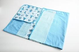 omslagdoek baby | aqua (PL1)