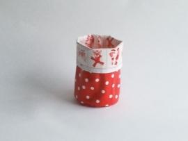 Mand zeil klein/ holland rood (mk9)