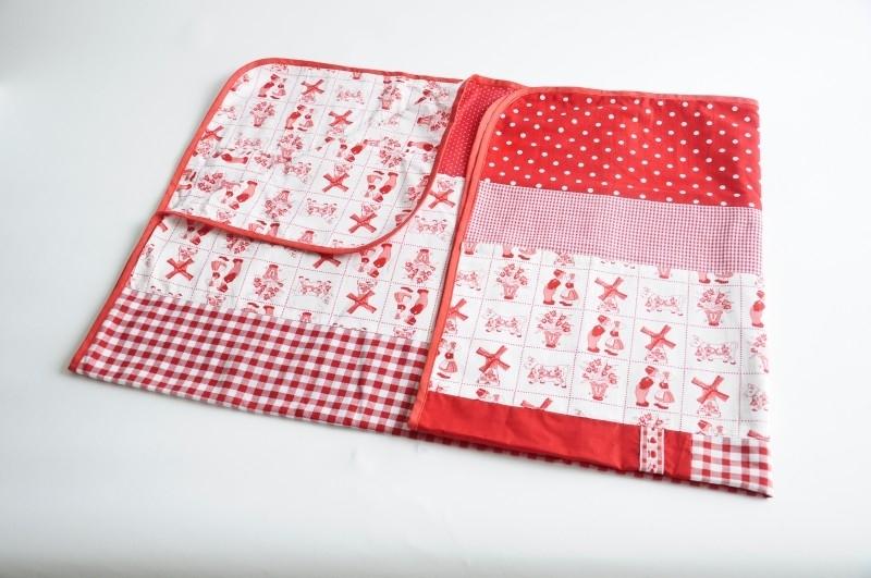 omslagdoek baby | rood (PL4)