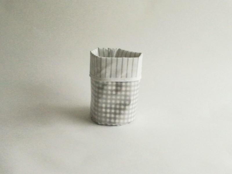 Mand zeil klein/ ruit zilver (mk3)