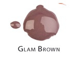 Glam Brown - Nail Laquer Gel Finish