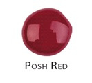 Posh Red - Nail Laquer Gel Finish