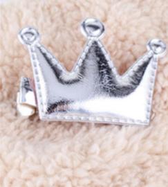 Zilveren kroontjes, haarklemmetjes