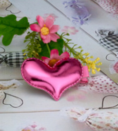 Roze hartjes, haarklemmetjes