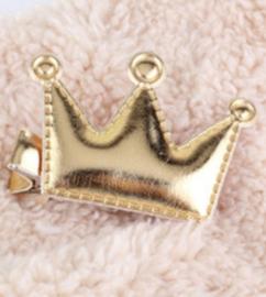 Gouden kroontjes, haarklemmetjes