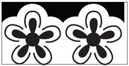Ek succes Large pop up Hawaiian border ounch  all. art. 54-50031 voorraad 2x