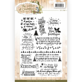 Clearstamp Marieke Design art. PMCS 10020  The nature of Christmas