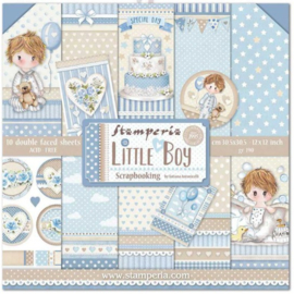 Stamperia paper pad Little Boy 30,5x30,5cm art. SBBL68