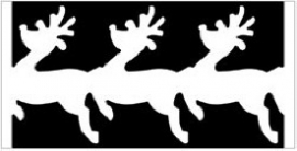 EK succes Large Chain punch   Reindeer  Chain all. art.54-50012 voorraad 2x