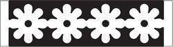 EK randpons all. art.54-40022   Flower Chain voorraad 3x