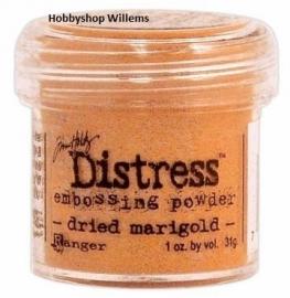 distress pow. Tim Holtz./ . krs.art.        dried marigold    op voorraad aanwezig afhaalkorting 10%