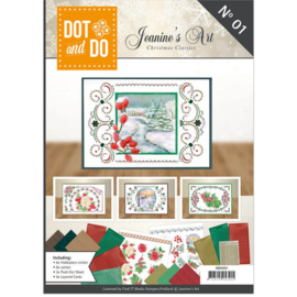DOT and DO NO1 Jeanine's art Christmas Classic art.DODOA6001