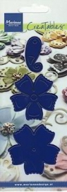 Creatable Marianne Design Ribbon flower 2      art.  LR 0109