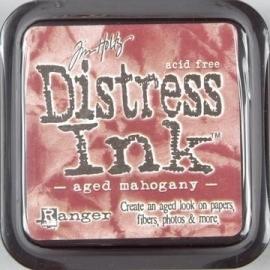 Distress Inkt Tim Holtz - Ranger   Art.  Krs. 0615 Aged Magahony