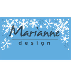 Marianne Design Snowflakes border LR0498