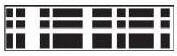 EK Succesborderpunch all. art.54-40089 Oval Plaid