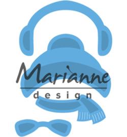 Marianne Design Kim's Buddies winter set LR0499