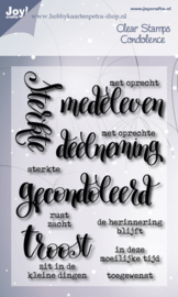 Joy Crafts Clear stamps en Tekst Stamps nederlands duits enz.