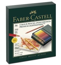 Faber Castell Polychrome kunstenaars potloden in een STUDIO BOX  van een zeer hoge kwaliteit              levering vanaf 5 sep. 2015