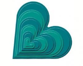 Spellbinder Classic Heart art. s4-136