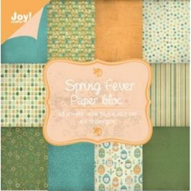 Joy paperbloc art. 6011/0707 Spring for ever 30,5x30,5cm 25% korting