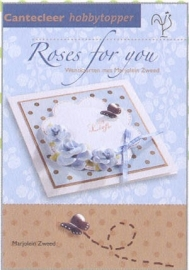 Hobby Topper jal. art. 72904-073 Roses for you. 5% korting