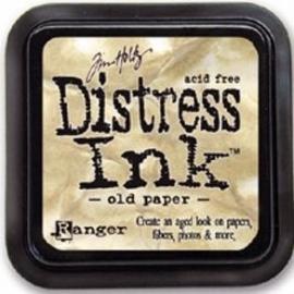 Distress Inkt Tim Holtz - Ranger Art.  Krs. 0603    Old Paper