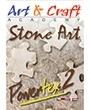Technieken Powertex stone art dvd  duurd 70 min. op voorraad 1