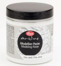 Modellier pasta zonder korrels Viva Decor. (gladde fijne pasta) wit 250ml